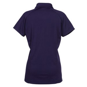 Fine Stripe Performance Polo - Ladies' Image 1 of 1