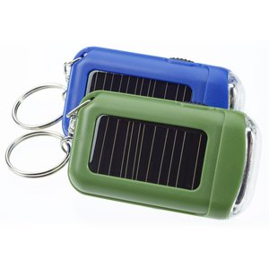 Solar Eco LED Flashlight - Closeout Image 2 of 2