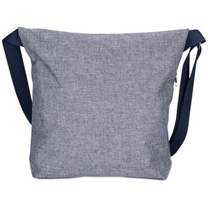 Chambray Foldover Tablet Tote Image 2 of 3