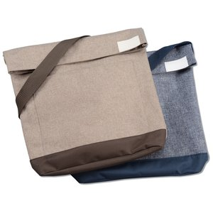 Chambray Foldover Tablet Tote Image 3 of 3