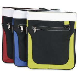 Expandable Mini Messenger Tote Image 1 of 2