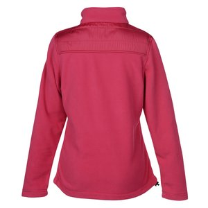 Quilted Overlay Fleece Jacket - Ladies' Image 2 of 2