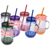 Game Day Color Pop Mason Jar - 20 oz. Image 1 of 2
