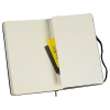 """View Image 4 of 4 of Moleskine Hard Cover Notebook - 8-1/4"""" x 5"""" - Graph - 24 hr"""