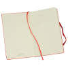 """View Image 6 of 6 of Moleskine Hard Cover Notebook - 8-1/4"""" x 5"""" - Ruled - Foil Stamp"""