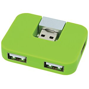 Accent 4 Port USB Hub - 24 hr Image 1 of 3