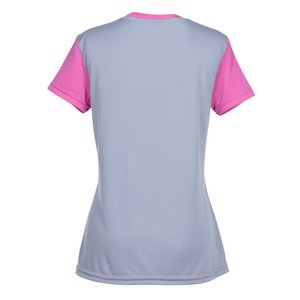 Boston Colorblock Training Tech Tee - Ladies' Image 2 of 2