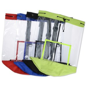 Clear Sling Backpack Image 1 of 2