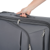 """View Extra Image 1 of 3 of Luxe 21"""" Expandable Carry-On Luggage - Embroidered"""