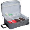 """View Extra Image 2 of 3 of Luxe 21"""" Expandable Carry-On Luggage - Embroidered"""