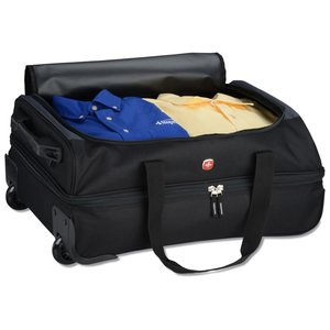 "Wenger 22"" Drop Bottom Duffel - Embroidered"