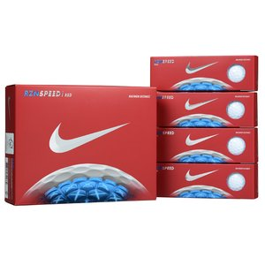 Nike RZN Speed Red Golf Ball - Dozen - Quick Ship Image 1 of 1