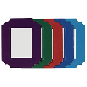Deco Magnetic Photo Frame - Ornate Rectangle Image 2 of 2