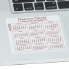 View Extra Image 1 of 1 of Removable Laptop Calendar - 3-1/4 inches x 3-3/4 inches