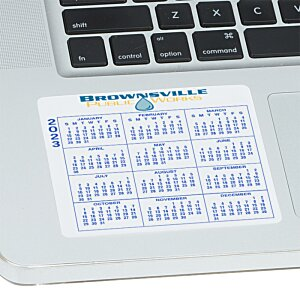 Removable Laptop Calendar - 3-1/4
