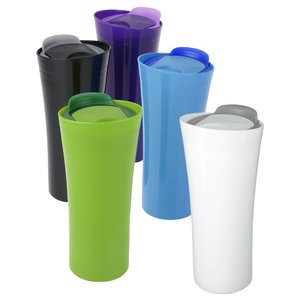 Two Tone Travel Tumbler - 16 oz. Image 1 of 2