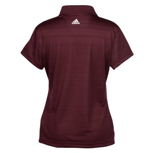 adidas Golf ClimaLite Textured Polo - Ladies' Image 2 of 2