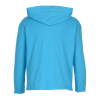 View Extra Image 2 of 2 of Anvil Ringspun LS Hooded T-Shirt - Youth - Screen