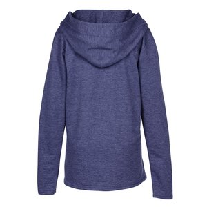 Anvil French Terry Crossneck Hoodie - Ladies' Image 2 of 2