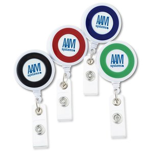 Color Edge Retractable Badge Holder