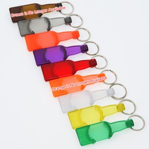 Bottle-Shaped Beverage Opener - Translucent - Closeout