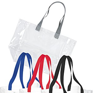 Rally Clear Tote - 24 hr
