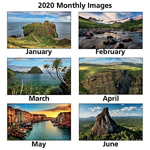World Scenic Executive Calendar Image 1 of 2