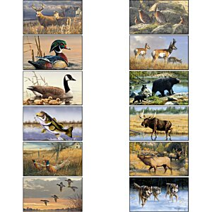 Wildlife Art Large Wall Calendar Image 1 of 2