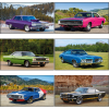 Muscle Cars Calendar with 2-Month View Image 1 of 1