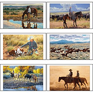 American West Calendar with 2-Month View Image 1 of 1