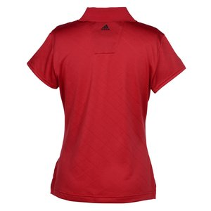 Adidas ClimaCool Diagonal Textured Polo - Ladies' Image 1 of 2