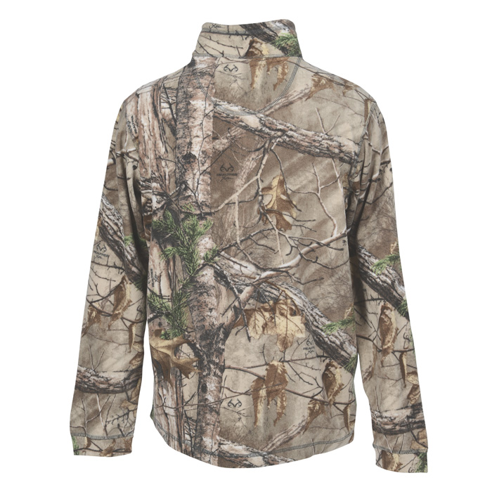 Dri Duck Element 1/4 Zip Nano Fleece Pullover - Men's - Camo Sorry ...
