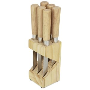 6-Piece Steak Knife Block Set Image 1 of 2