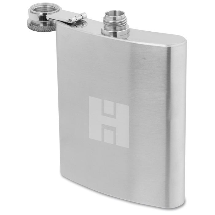 4imprint com: Zippo Hip Flask - 8 oz  - 24 hr 123826-24HR