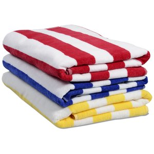 Midweight Cabana Stripe Towel Image 1 of 1
