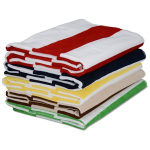 Heavyweight Cabana Stripe Towel Image 1 of 1