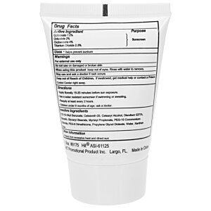 Sunscreen Tube - 1-1/2 oz. Image 1 of 1