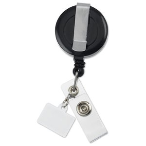 Retractable Badge Holder Charm - Rectangle Image 3 of 4