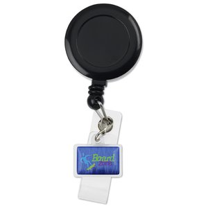 Retractable Badge Holder Charm - Rectangle Image 4 of 4