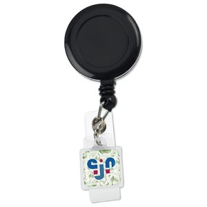 Retractable Badge Holder Charm - Square Image 4 of 4