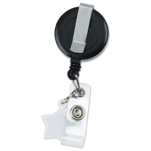 Retractable Badge Holder Charm - Star Image 2 of 4