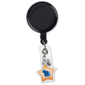 Retractable Badge Holder Charm - Star Image 3 of 4