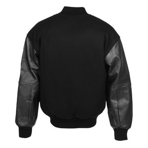 Burk's Bay Wool & Leather Varsity Jacket Image 2 of 2