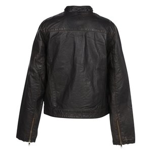Burk's Bay Retro Leather Jacket - Ladies' Image 2 of 2