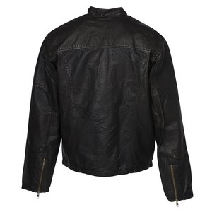 Burk's Bay Retro Leather Jacket - Men's Image 2 of 2
