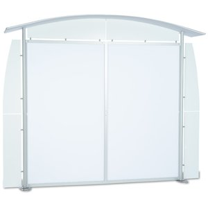 Linear 10' Curved Floor Display Kit Image 3 of 7