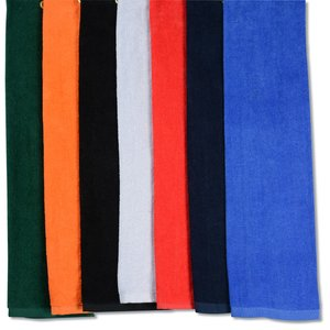 Trifold Golf Towel - Colors - Embroidered Image 1 of 1