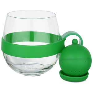 Tea Ball Glass Mug - 16 oz. Image 1 of 2