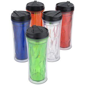 Multi-Faceted Travel Tumbler - 16 oz. Image 2 of 2