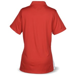 Strident Color Block Polo - Ladies' Image 1 of 2